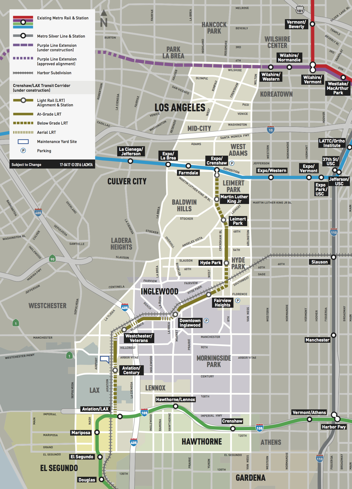Go Metro To Clippers In Inglewood How We Roll June The Source - Inglewood map