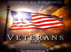 Veteran's Day Reflection- A Light in the Darkness