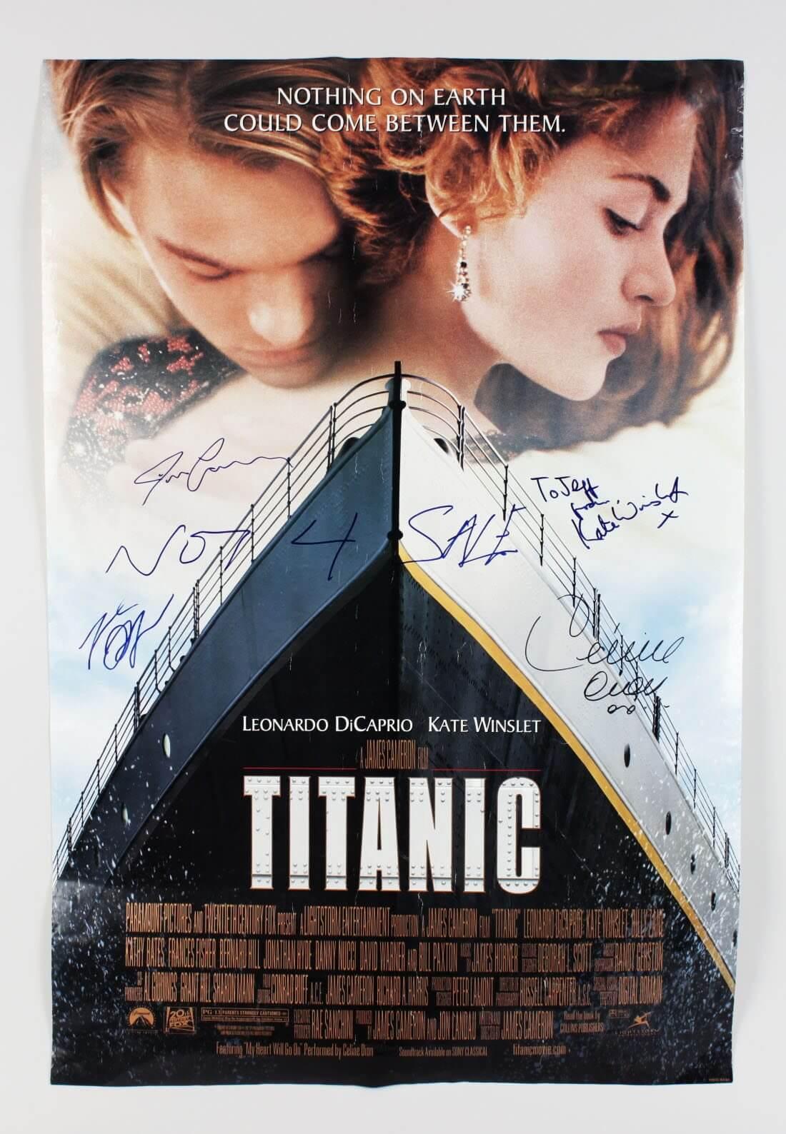 image gallery james cameron titanic poster