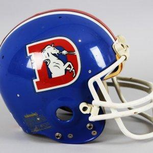 Denver Broncos John Elway Rookie Era Game-Worn Helmet