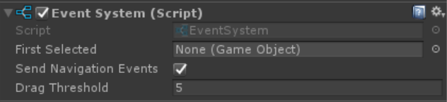 Unity Event System