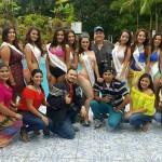 Se Realizó la Sesión de Fotos de las Candidatas a Reina de la Unan Farem Matagalpa 2016