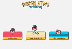 google super sync sports swim run cycle