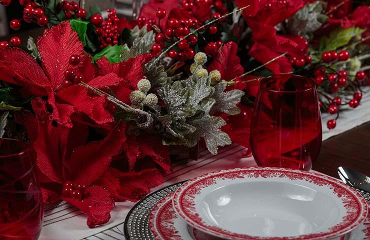 Ideas para decorar la mesa en navidad revista amiga - Decorar la mesa en navidad ...