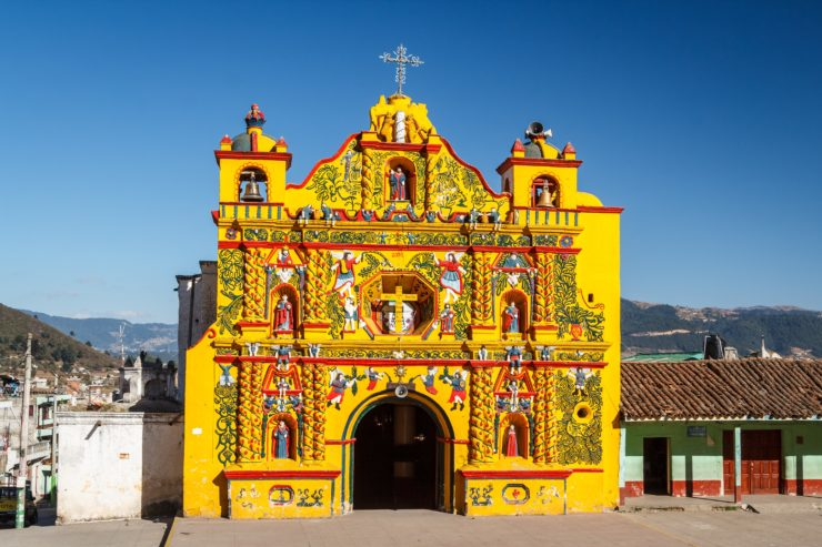 San Andrés Xecul, el lugar para tomar buenas fotos en el altiplano