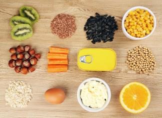 Vitaminas en alimentos