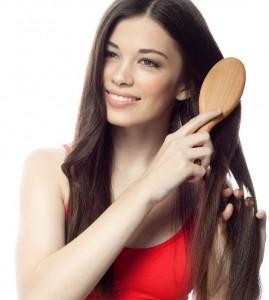 Cepillar el cabello