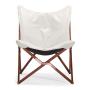 Draper chair - white - front view