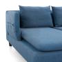 mirens - Axioma Cowboy Blue Sofa - Removable Arm