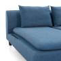 Axioma Cowboy Blue Sofa