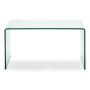 Caravan Desk - Tempered Glass - Front View