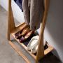 Leaning Loop - shoe rack