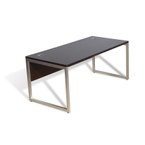 mirens - 63 Office Desk with Alumimum Base