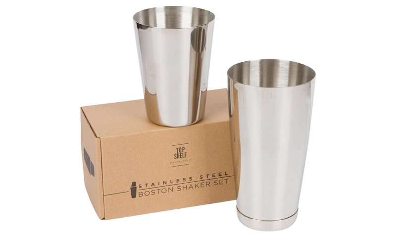 Top Shelf Bar Supply Boston shaker