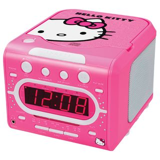 Hello_kitty_clock_radio_cd_player