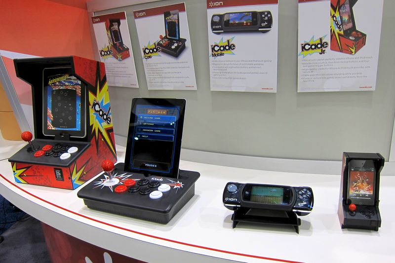 CES_2012_iON_iCade_Product_Line