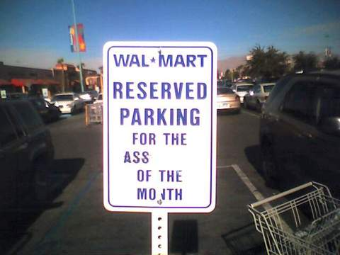Walmart Ass of the Month