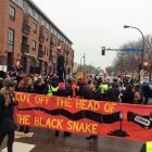 Peaceful protests follow Trump inauguration in Mpls