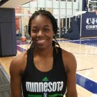 Undrafted rookie takes her shot at the pros