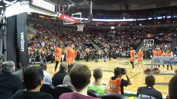 The Only One in the Emerald City: 2017 WNBA All Star Game