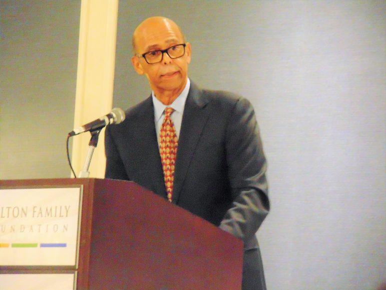 UNCF President Michael Lomax