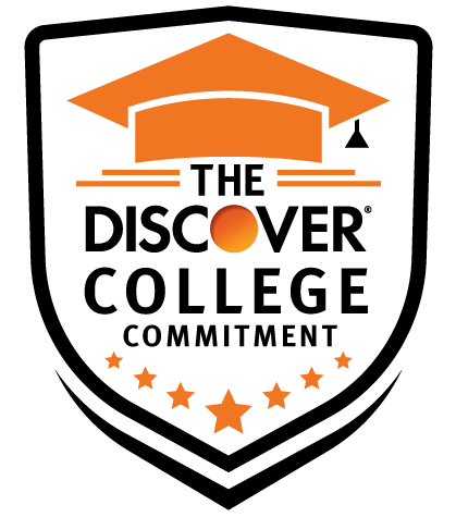 Discover College Commitment Logo