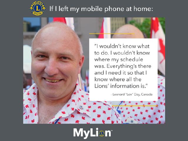 Lion, der ein kanadisches Hemd auf der Parade der Nationen trägt