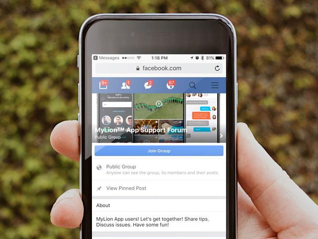 MyLionサポートフォーラムのフェイスブック・ページ