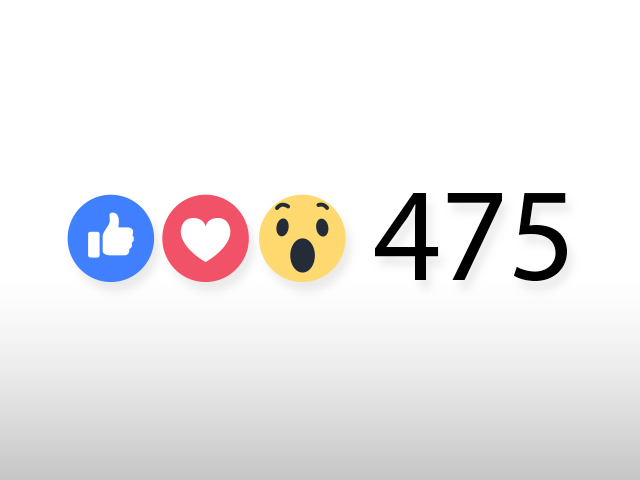 फेसबुक लाइक एवं लव आइकॉन्स