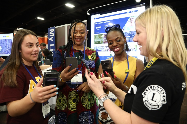 Lions learn about MyLion at Convention 2018