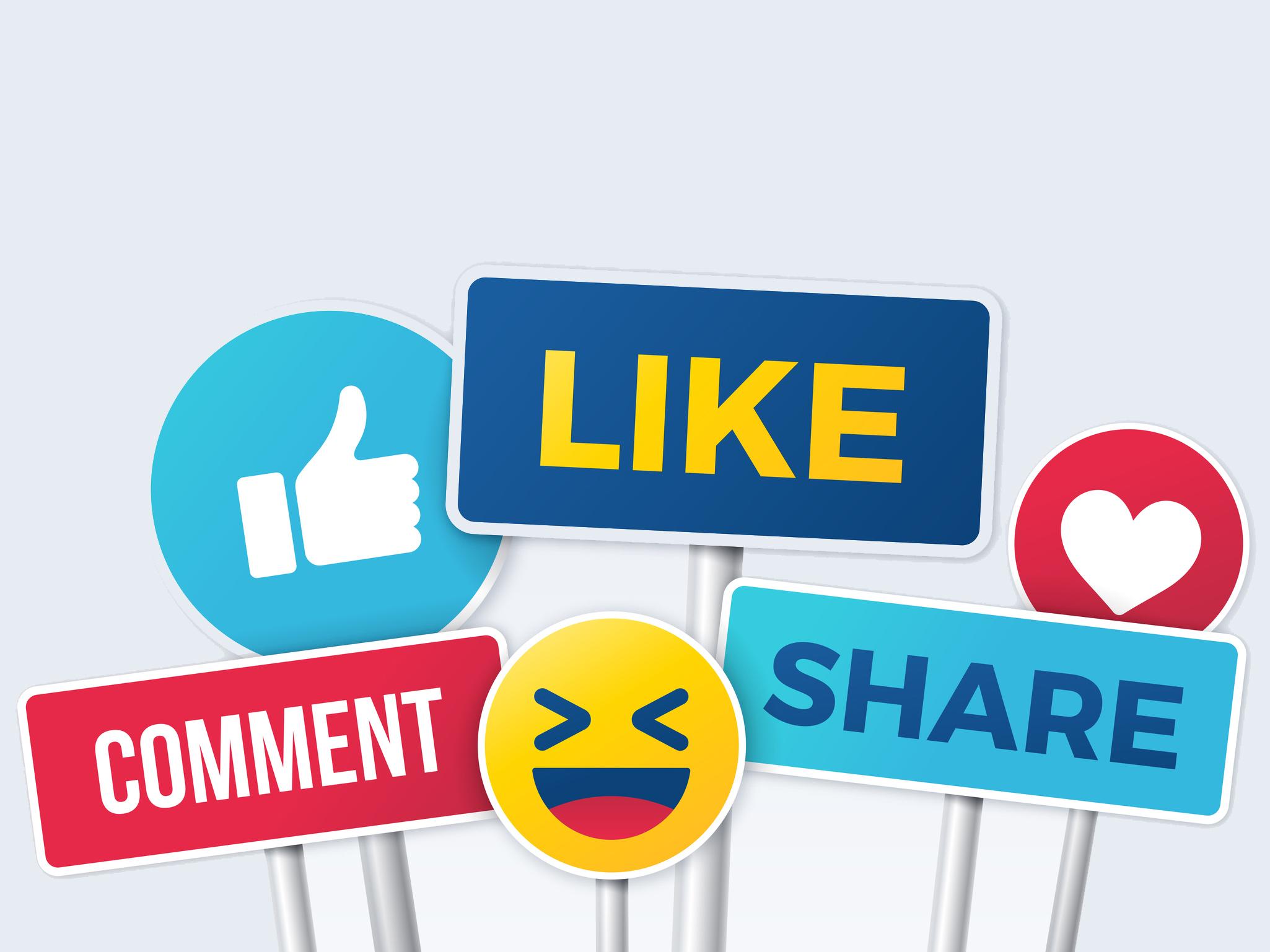 Lions sind in den sozialen Medien aktiv