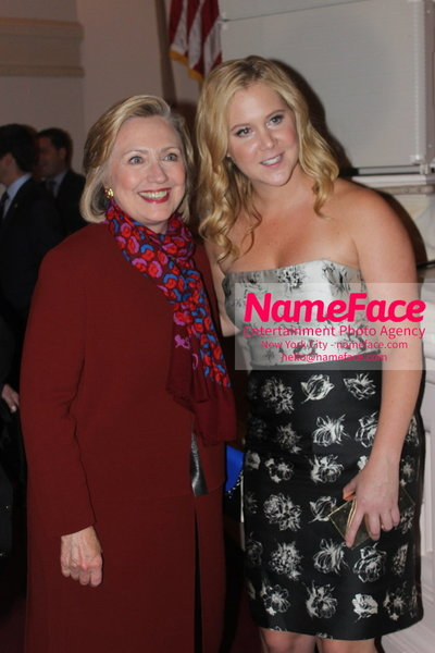 2014 Annual Glamour Women of the Year Awards Hillary Clinton and Amy Schumer - NameFace Photo Agency New York City - hello@nameface.com - nameface.com - Photo by