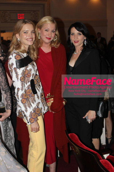 2014 Annual Glamour Women of the Year Awards Natalia Vodianova, Amy Sacco and Michele Hicks - NameFace Photo Agency New York City - hello@nameface.com - nameface.com - Photo by
