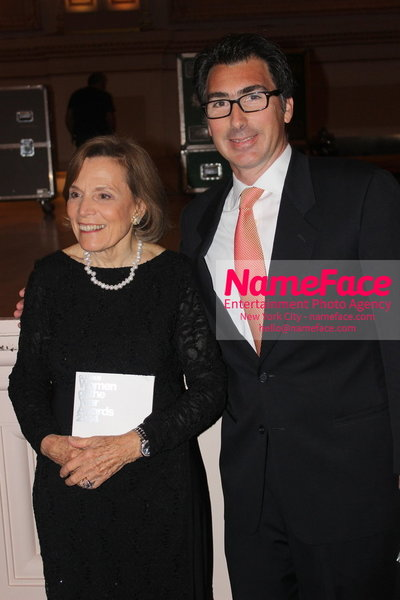 2014 Annual Glamour Women of the Year Awards Sylvia Earle and Michael Hainey - NameFace Photo Agency New York City - hello@nameface.com - nameface.com - Photo by