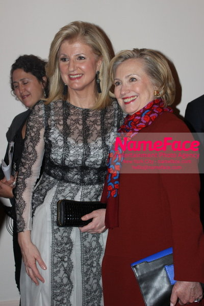 2014 Annual Glamour Women of the Year Awards Arianna Huffington and Hillary Clinton - NameFace Photo Agency New York City - hello@nameface.com - nameface.com - Photo by