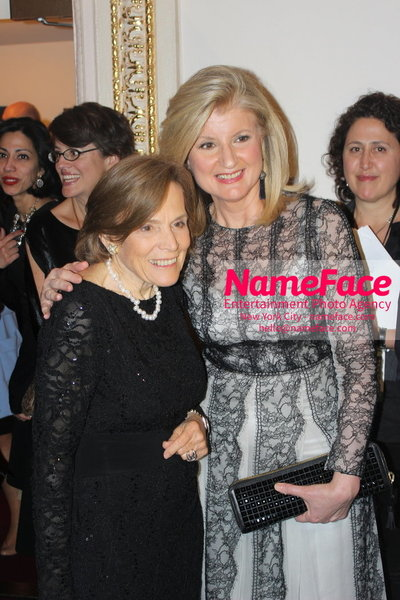 2014 Annual Glamour Women of the Year Awards Sylvia Earle and Arianna Huffington - NameFace Photo Agency New York City - hello@nameface.com - nameface.com - Photo by