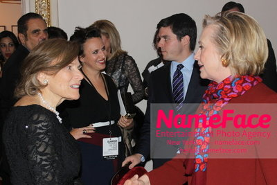 2014 Annual Glamour Women of the Year Awards Sylvia Earle and Hillary Clinton - NameFace Photo Agency New York City - hello@nameface.com - nameface.com - Photo by