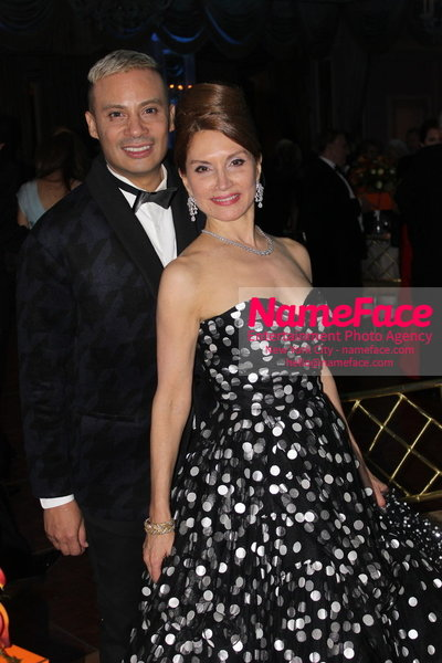 2014 Annual Glamour Women of the Year Awards Victor de Souza and Jean Shafiroff - NameFace Photo Agency New York City - hello@nameface.com - nameface.com - Photo by