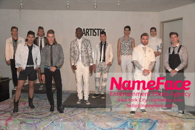 SHOW ARTISTIX - With Andy Hilfiger - S/S 17 Mens Presentation Atmosphere - NameFace Photo Agency New York City - hello@nameface.com - nameface.com - Photo by Steve Eichner