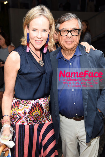 NY: 23rd Annual Watermill Center Summer Benefit & Auction Carol Mack and Bob Colacello - NameFace Photo Agency New York City - hello@nameface.com - nameface.com - Photo by Steve Eichner