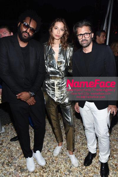 NY: 23rd Annual Watermill Center Summer Benefit & Auction Maxwell Osborne, Alexandra Agoston and Chris Colls - NameFace Photo Agency New York City - hello@nameface.com - nameface.com - Photo by Steve Eichner