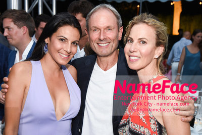 NY: 23rd Annual Watermill Center Summer Benefit & Auction Natalia Echavarria, Guest and Sharon Dorram-Krause - NameFace Photo Agency New York City - hello@nameface.com - nameface.com - Photo by Steve Eichner