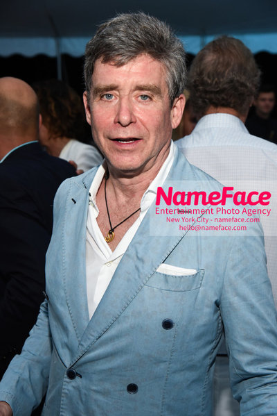 NY: 23rd Annual Watermill Center Summer Benefit & Auction Jay McInerney - NameFace Photo Agency New York City - hello@nameface.com - nameface.com - Photo by Steve Eichner