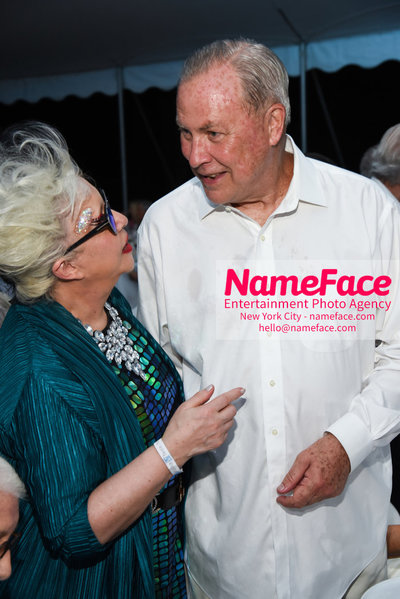 NY: 23rd Annual Watermill Center Summer Benefit & Auction Orlan and Robert Wilson - NameFace Photo Agency New York City - hello@nameface.com - nameface.com - Photo by Steve Eichner