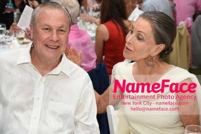 NY: 23rd Annual Watermill Center Summer Benefit & Auction Robert Wilson and Maren Otto - NameFace Photo Agency New York City - hello@nameface.com - nameface.com - Photo by Steve Eichner