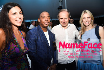 NY: 23rd Annual Watermill Center Summer Benefit & Auction Sheree Hovsepian, Ja Rule, Simon de Pury and Alexandra Von Furstenberg - NameFace Photo Agency New York City - hello@nameface.com - nameface.com - Photo by Steve Eichner