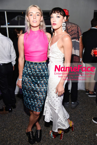 NY: 23rd Annual Watermill Center Summer Benefit & Auction Chloe Norgaard and Mia Moretti - NameFace Photo Agency New York City - hello@nameface.com - nameface.com - Photo by Steve Eichner