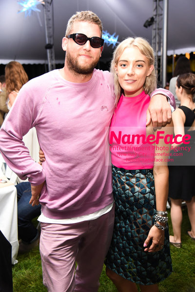 NY: 23rd Annual Watermill Center Summer Benefit & Auction Guest and Chloe Norgaard - NameFace Photo Agency New York City - hello@nameface.com - nameface.com - Photo by Steve Eichner