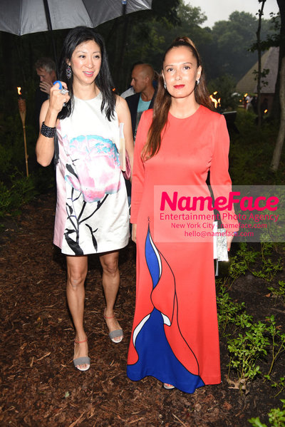 NY: 23rd Annual Watermill Center Summer Benefit & Auction Claudia Avendano - NameFace Photo Agency New York City - hello@nameface.com - nameface.com - Photo by Steve Eichner