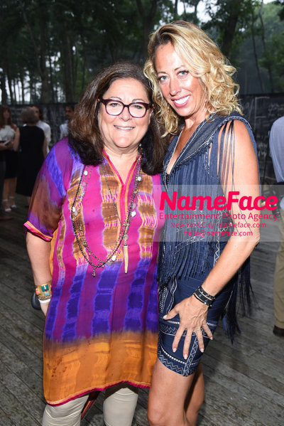 NY: 23rd Annual Watermill Center Summer Benefit & Auction Fern Mallis and Tatiana Platt - NameFace Photo Agency New York City - hello@nameface.com - nameface.com - Photo by Steve Eichner